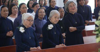 Hình Ảnh Thánh Lễ Mừng Ngọc Khánh Khấn Dòng (10.4.2021)